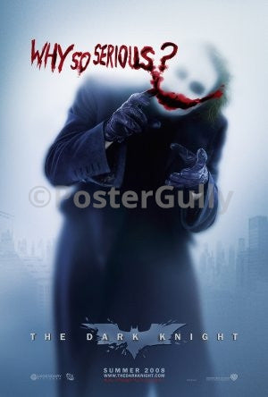 PosterGully Specials, Joker in The Dark Knight | Why So Serious?, - PosterGully
