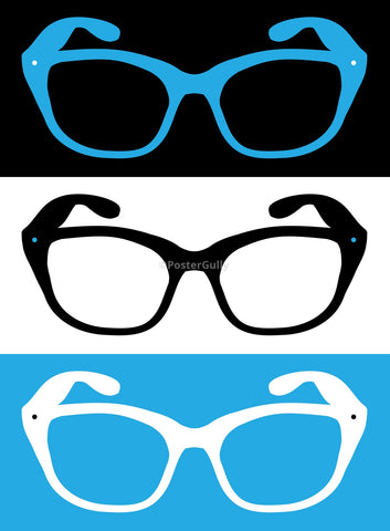 PosterGully Specials, Glasses in Pop Art, - PosterGully