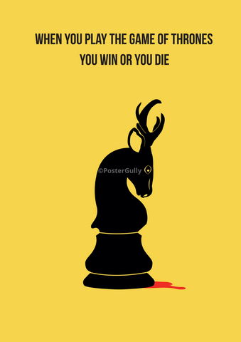 PosterGully Specials, Game of Thrones | Minimal Art, - PosterGully
