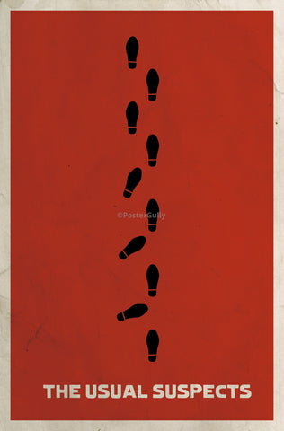 PosterGully Specials, The Usual Suspects | Minimal Art, - PosterGully