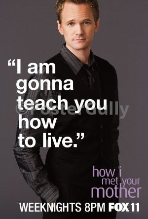 PosterGully Specials, Barney Stinson | How To Live.., - PosterGully