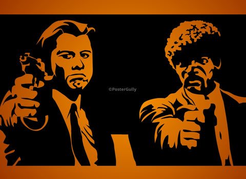 PosterGully Specials, Pulp Fiction | Black Art, - PosterGully