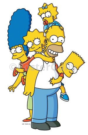 PosterGully Specials, The Simpsons | Family Portrait, - PosterGully