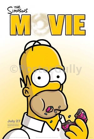 PosterGully Specials, The Simpsons | The Movie, - PosterGully