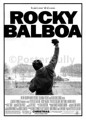 Wall Art, Rocky Balboa, - PosterGully