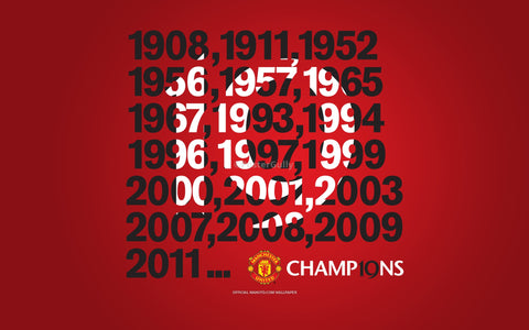 PosterGully Specials, Manchester United | Nineteen, - PosterGully