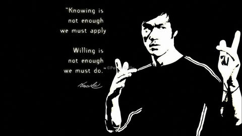 PosterGully Specials, Bruce Lee Quote, - PosterGully