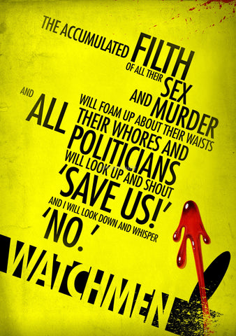 PosterGully Specials, Watchmen, - PosterGully