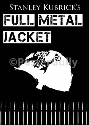 PosterGully Specials, Full Metal Jacket | Minimal Art, - PosterGully