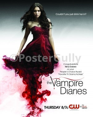 PosterGully Specials, Vampire Diaries | Drink Her In, - PosterGully