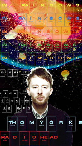 PosterGully Specials, Radiohead | Thom Yorke | In Rainbows, - PosterGully