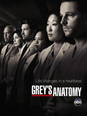 PosterGully Specials, Grey's Anatomy | Life Changes In Heartbeat., - PosterGully