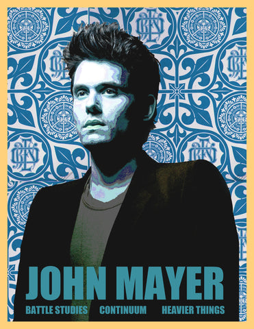 PosterGully Specials, John Mayer | Cool Blue, - PosterGully