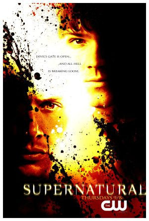 PosterGully Specials, Supernatural | Hell Is Breaking Loose, - PosterGully