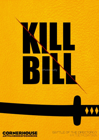 PosterGully Specials, Kill Bill | Minimal Art | Sword, - PosterGully