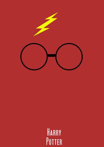 PosterGully Specials, Harry Potter | Minimal Art, - PosterGully