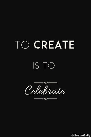 Wall Art, Create | Celebrate, - PosterGully