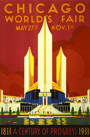 PosterGully Specials, Chicago World's Fair, - PosterGully