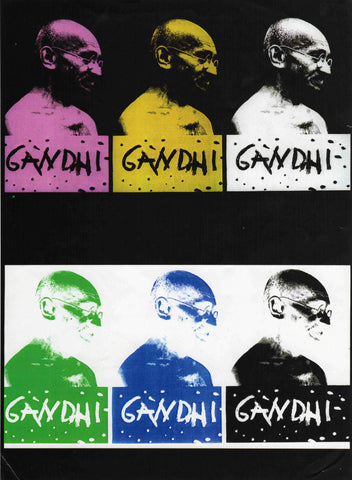 PosterGully Specials, Gandhi | Pop Art, - PosterGully