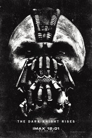 PosterGully Specials, The Dark Knight Rises| Bane Artwork, - PosterGully