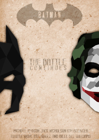 PosterGully Specials, Batman | The Battle Continues, - PosterGully