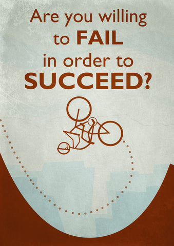 PosterGully Specials, Fail to Succeed, - PosterGully