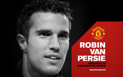 PosterGully Specials, Robin Van Persie | Manchester United, - PosterGully