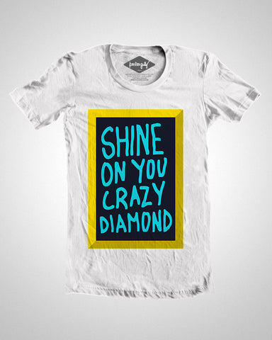 T Shirts, Shine On You Crazy Diamond | Pink Floyd T-Shirt, - PosterGully