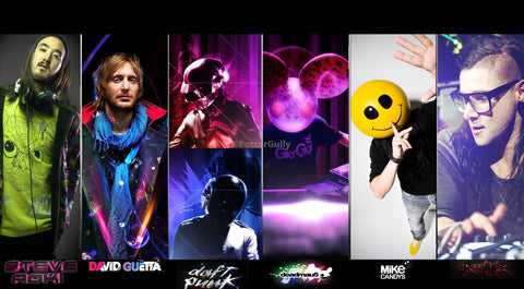 PosterGully Specials, World's Best DJs, - PosterGully