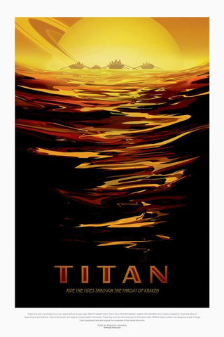 PosterGully Specials, Titan | Nasa Posters, - PosterGully