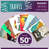 Travel Inspired BoxSet - Set of 10