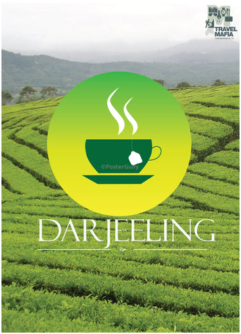 PosterGully Specials, Darjeeling | A Cup Of Tea, - PosterGully