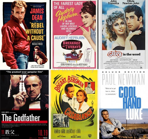 Combo Deals, Vintage Movie Collection, - PosterGully
