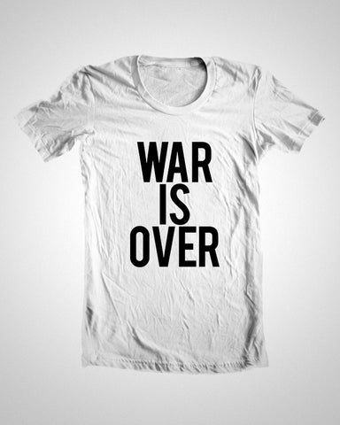 T Shirts, War Is Over | John Lennon T-Shirt, - PosterGully