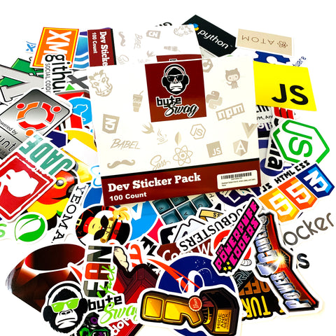 Dev Stickers Pack 100