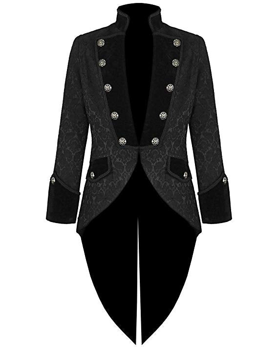 Steampunk Tailcoat Jacket