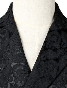 Jacquard Brocade Tailcoat