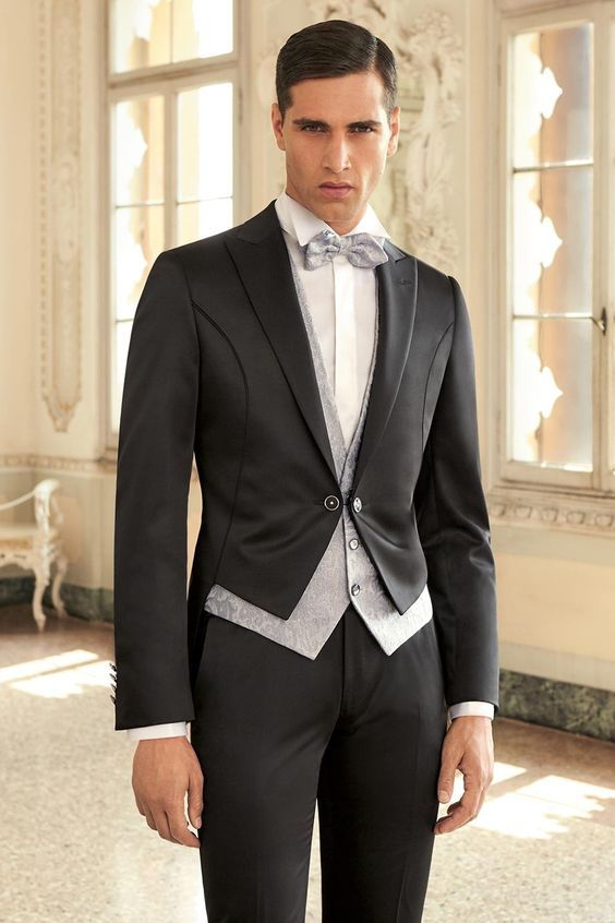 Mens Three Piece Tuxedo