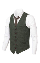 Load image into Gallery viewer, Dark Green Vest