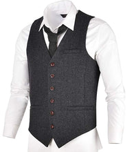 Load image into Gallery viewer, Black Vest