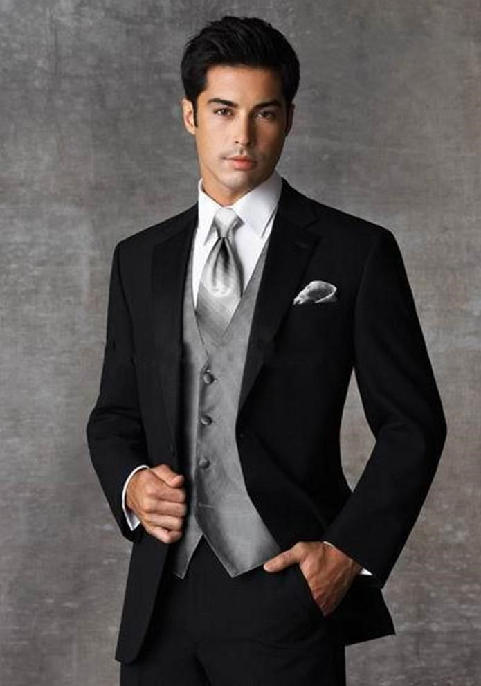 Two Buttons Slim Fit Tuxedo