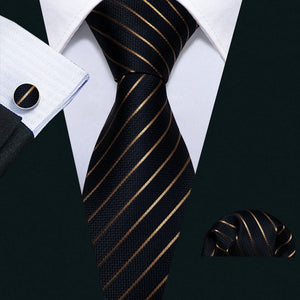 Red Striped Designer Ties