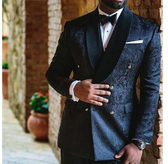 Wedding Blazer Suits (Jacket+Pants+Vest+Tie)
