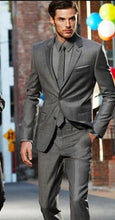 Load image into Gallery viewer, Notch Lapel Men's Suit (Jacket+Pants+Tie)