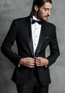 Custom Made Slim Fit Notch LapeL Tuxedo