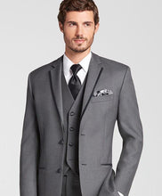 Load image into Gallery viewer, Classic 3 Piece Gray Suit