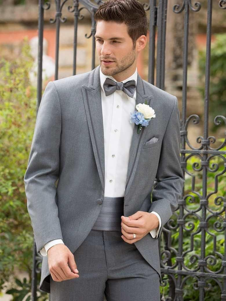 Custom Made Grey Tuxedo