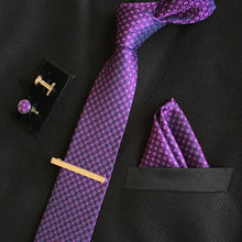 Load image into Gallery viewer, Mens Silk Tie Sets