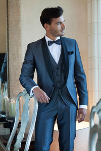 Navy Blue Customized Tuxedo