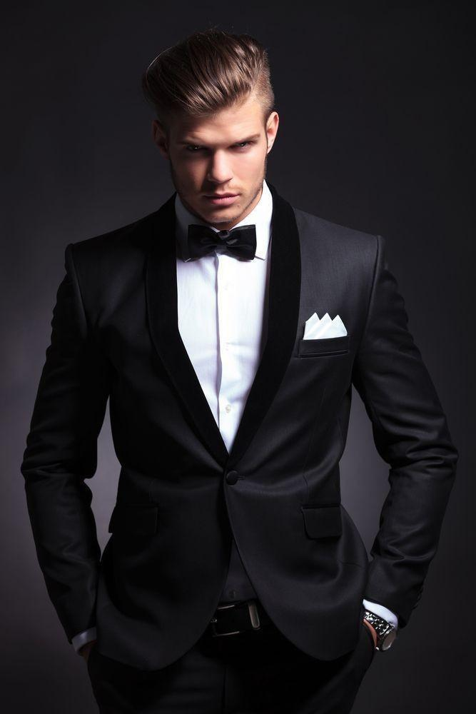 Mens Black Formal Suits  (Jacket + Pant +Vest )